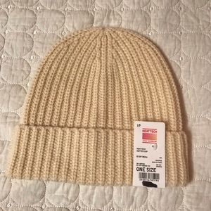 Other - Cream beanie! Brand new with tags! Never worn!